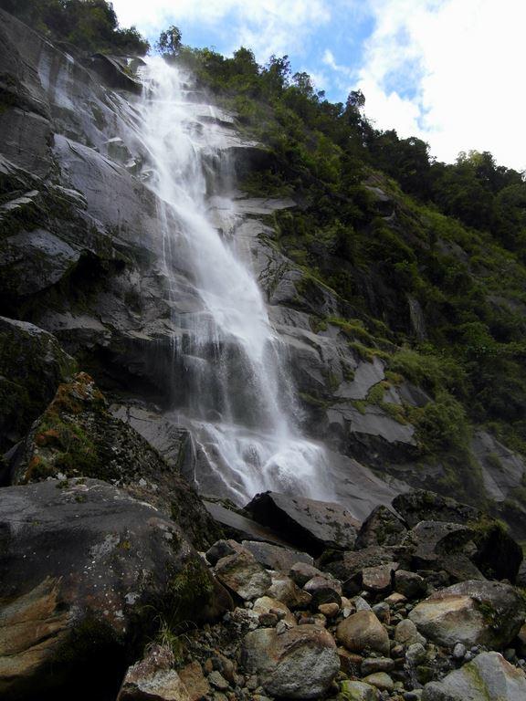 The Moon waterfall