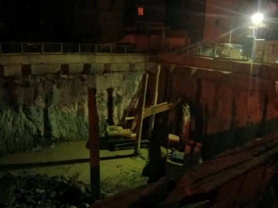 Beijing Lu construction pit