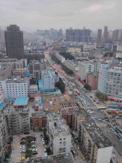Traffic Madness on Beijing Road