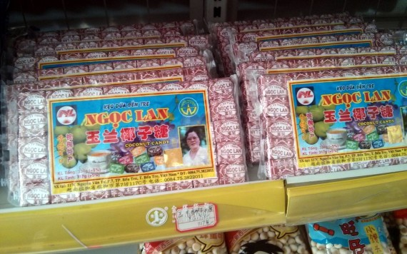 Vietnamese Candy from Ben Tre