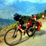 Bicycle portrait