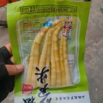 Sour and spicy bamboo shoots snack