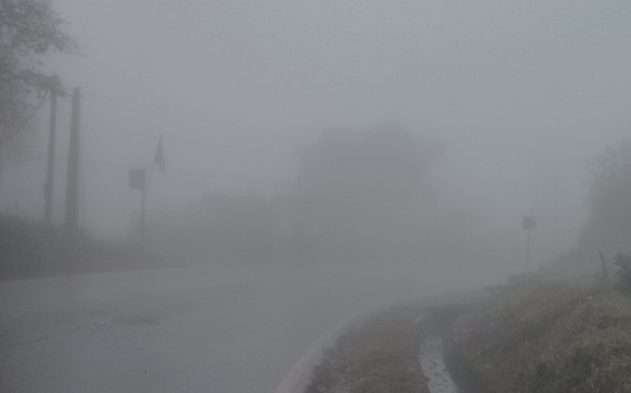 Dense fog at Sapa