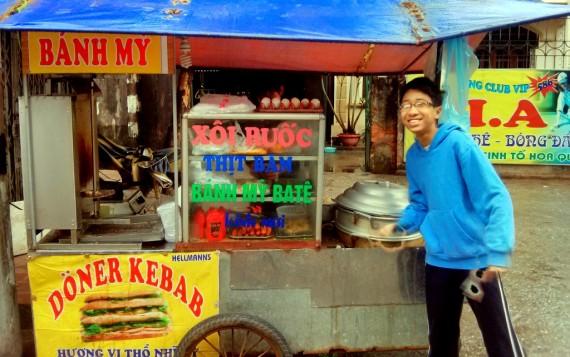 Döner Kebab in Vietnam is pork