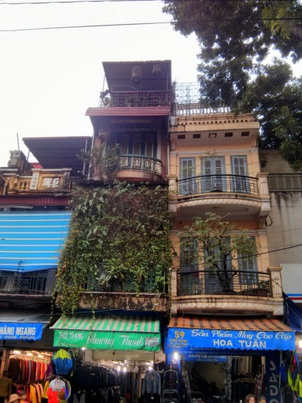 Colonial architecture at Hanoi