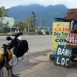 The Hai Van pass looming ahead