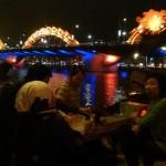 The Flying Dragon bridge at Da Nang