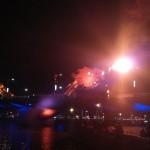 Da Nang dragon bridge breathing fire