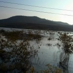 Inundated plain before Dak To