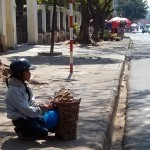 Selling tamarind