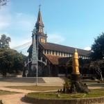 The wooden church at Kontum