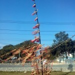 A very Tây Nguyên thingy, made entirely of bamboo, in the wind.