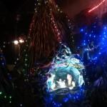 Very Christmassy crib at Yang Reh