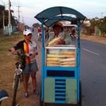 The Tutin buying some ice cream