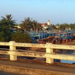 La Gi harbour ship warf
