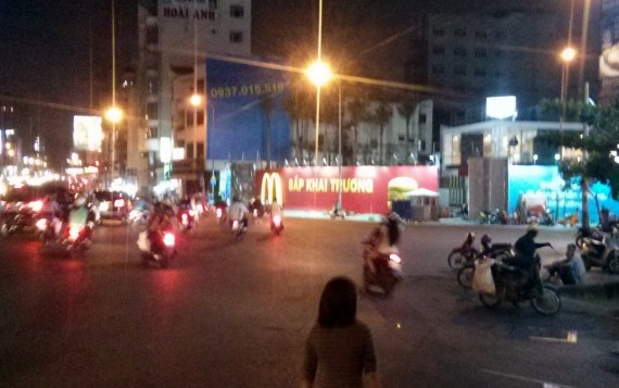 McDonald's opening in Saigon