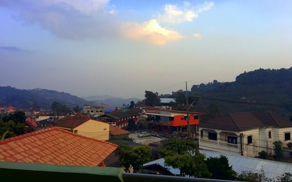 Sunset over Mae Salong