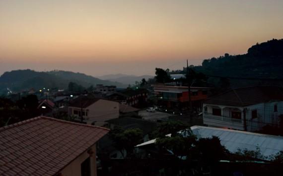 Sunrise over Mae Salong