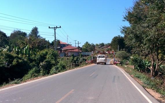 Rickety bridges and rickety cars: this must be Laos!
