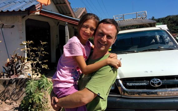 Some Yunnan TBZ's (土包子, or country bumpkins) I met on the road. These are Roger and his girl Abbey who live in Kunming.