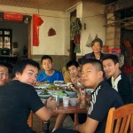 A visit to grandma's house at Yaoqu 瑶区 who prepares a lovely meal for the unexpected guests.