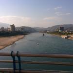 View from Jinghong bridge