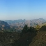 Panorama from Yiwu's highest point, also the highest point around