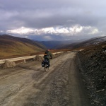 Just after the 4700 m pass